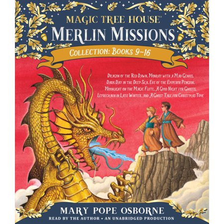 Merlin Mission Collection  Dragon Of The Red Dawn   Monday With A Mad Genius   Dark Day In The Deep Sea   Eve Of The Emperor Penguin   Moonlight On The Magic Flute   A Good Nigh