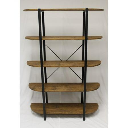 Ebern Designs Pippa 5 Tier Etagere Bookcase