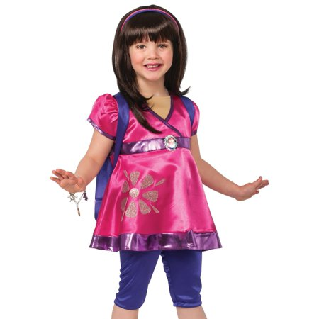 Dora The Explorer Halloween (Rubies Girls Deluxe Dora the Explorer Halloween Costume)