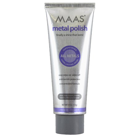 - Maas International Metal Polish, 4-Ounce