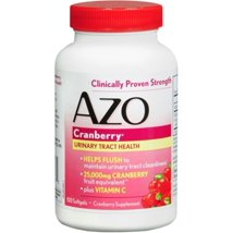 Vitamins & Supplements: AZO Cranberry Maximum Strength Softgels