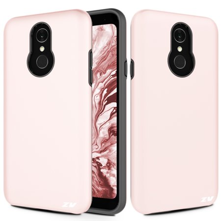 ZV SLEEK HYBRID Series compatible with LG Q7+ Case Lightweight with Anti  Scratch Shockproof Protection LG Q7 Plus
