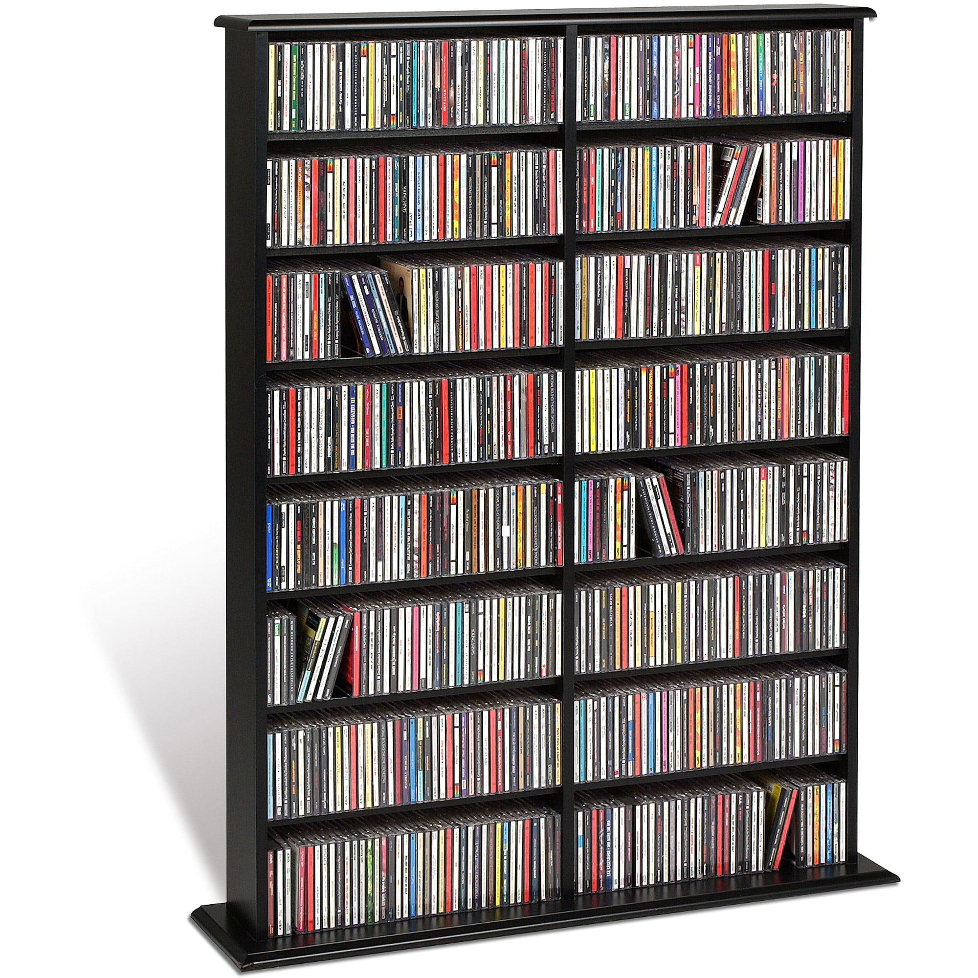 Cherry Wood Dvd Storage Cabinet Cd Dvd Storage Walmartcom Walmartcom