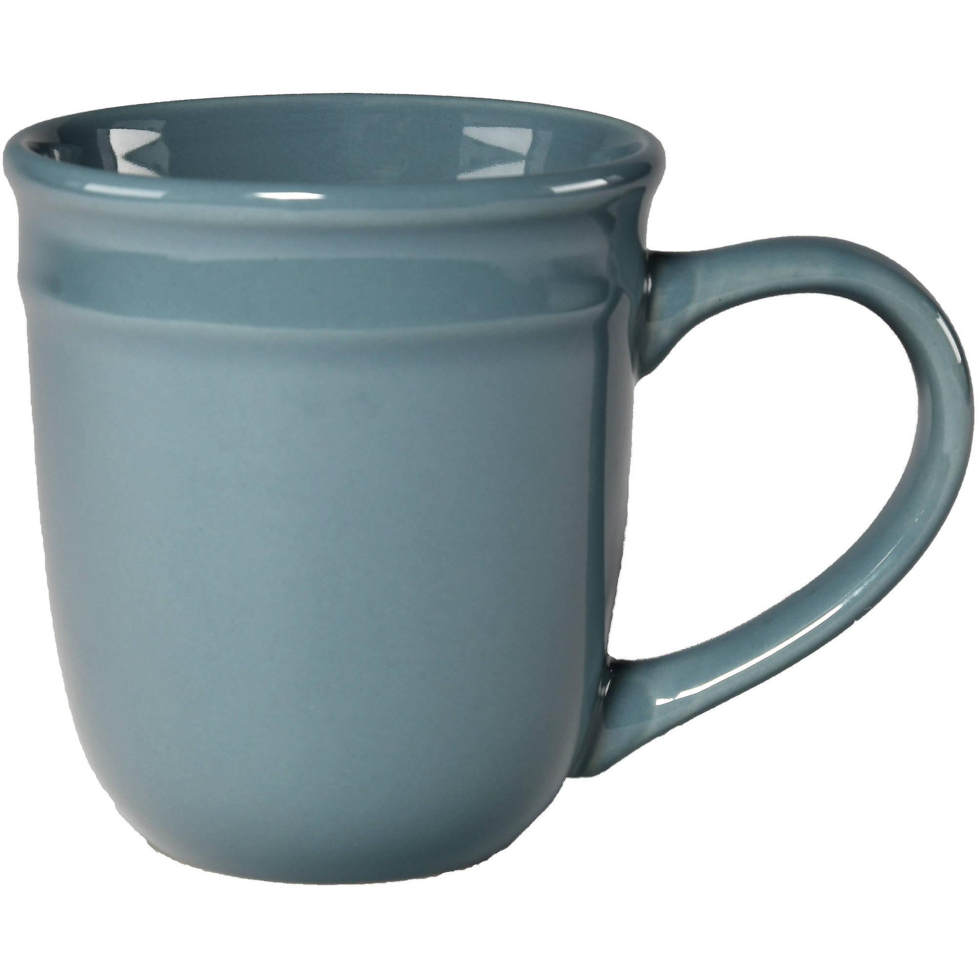 Amelia Auto Mart >> Mainstays Amelia 16.5oz Blue Mug - Walmart.com
