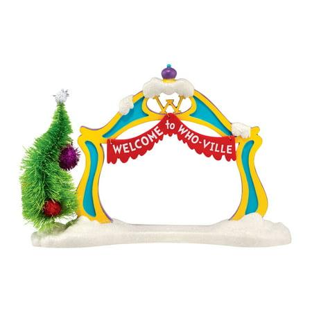 Department 56 Grinch Village Grinch Archway Figurine - Wedding Archways