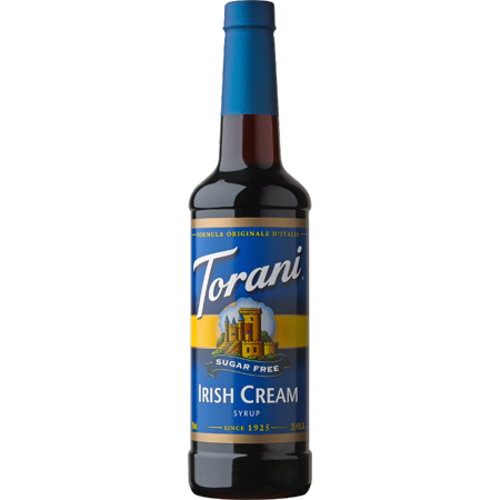 Torani Sugar Free Irish Cream Syrup 750ml