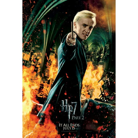Harry Potter and the Deathly Hallows: Part II Poster Movie UK K 11 x 17 Inches - 28cm x 44cm Emma Watson Ralph Fiennes Gary Oldman Daniel Radcliffe Helena Bonham Carter Alan Rickman Tom Felton (Toms Sonnenbrille Uk)