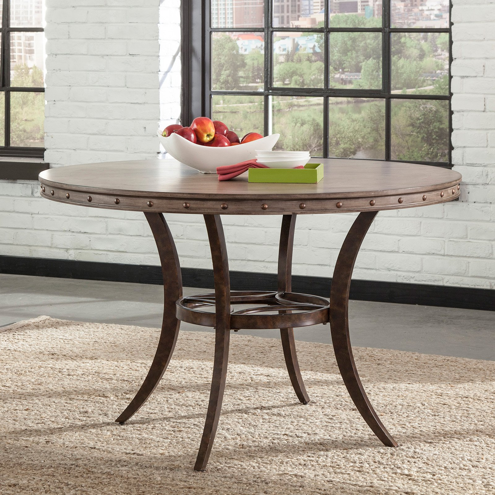 Hillsdale Furniture Emmons Round Dining Table