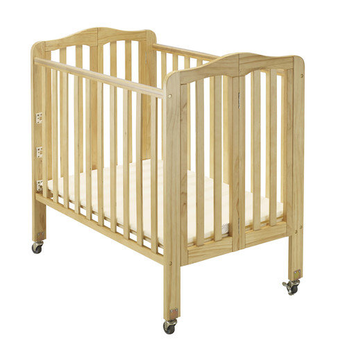 Baby Time International, Inc. Big Oshi Angela 2 Position Portable Convertible Crib with Mattress