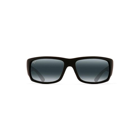 Maui Jim Sunglasses | Men's | World Cup H266 | Fade Wrap Frame, Polarized Lenses, with Patented PolarizedPlus2 Lens (Maui Jim Flexible Frame Sunglasses)