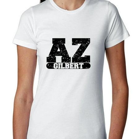 Gilbert, Arizona AZ Classic City State Sign Women's Cotton T-Shirt](Party City Gilbert Az)