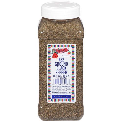 Fiesta Brand Ground Black Pepper Spice, 16 oz