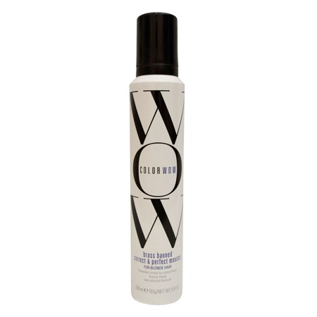 Color Wow Brass Banned Mousse Blonde Hair 6 8 Oz