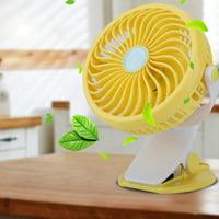 USB Mini Desk Desktop Personal Cooling Fan Super Quiet With Clip for Home Office Dorm , Desktop Fan, USB Desk Cooling Fan