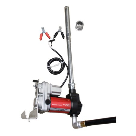Heavy Duty Industrial Fuel Pump Transfer Kit 12V 15 Gpm Gas Pumping 30Min Cycle