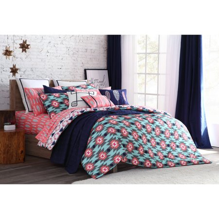 Clairebella navajo 2 3 piece reversible comforter bedding for Clairebella
