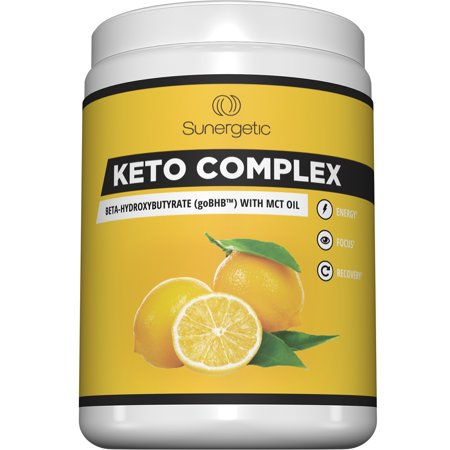 Premium Keto Bhb Salts Supplement   Includes Vegan Mct Oil Powder   Beta Hydroxybutyrate Exogenous Ketones  Sodium  Calcium  Magnesium  With Mct Oil For Energy  Focus   Weight Management   Lemonade