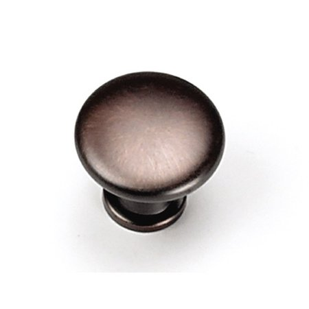 Laurey 26377 0.88 in. Button Knob - Venetian Bronze