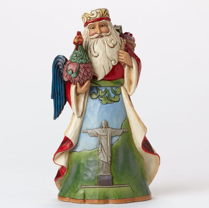 Jim Shore Dutch Traditions Windmill Santa Claus Christmas Figurine 4034367 New
