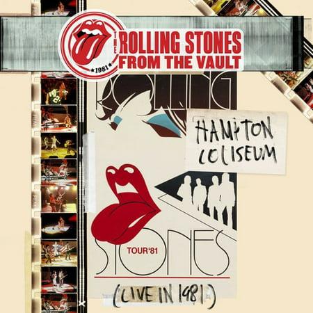 From the Vault: Hampton Coliseum (Live in 1981) (CD) (Includes DVD) (Digi-Pak) (Rolling Stones 1981)