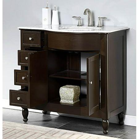 4 drawer bathroom vanity