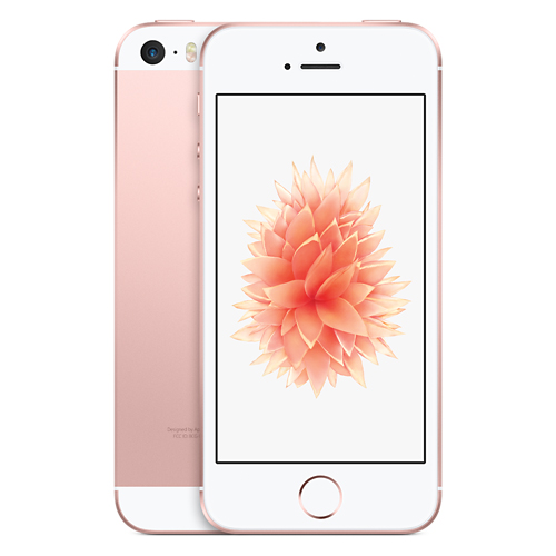 Apple iPhone SE 16GB Rose Gold LTE Cellular Straight Talk/TracFone MLY22LL/A - TF