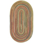 High Rock Round Braided Area Rug