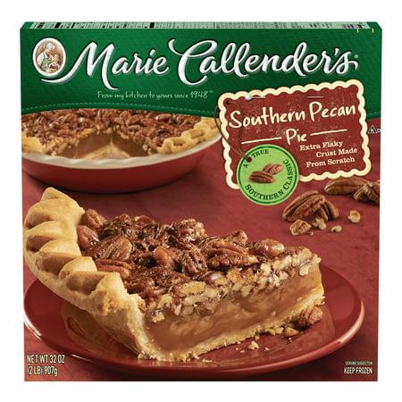 Marie Callenders Frozen Pie Dessert Southern Pecan 32 Ounce