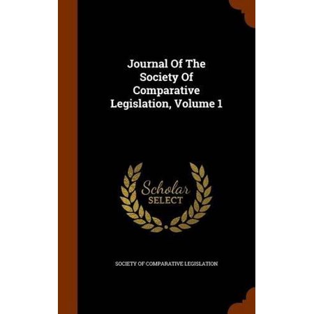 Journal of the Society of Comparative Legislation, Volume 1 - image 1 of 1