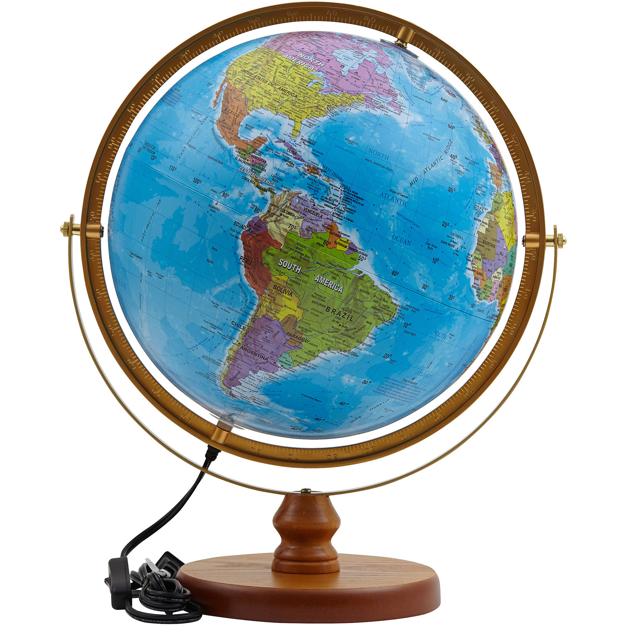 Mtroiz International 320-GASW SJ Smart Globe with Apps and LED Constellations