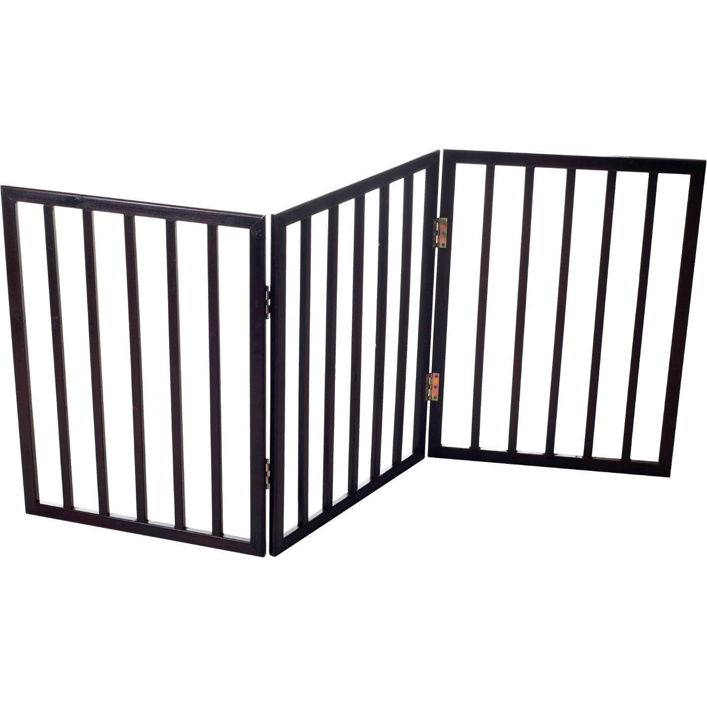 Foldable Free Standing Wooden Pet Gate Light Weight