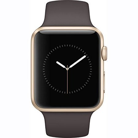 Refurbished Apple Watch 42Mm Gold Aluminum Case Cocoa Sport Band Gen 2 Series 1