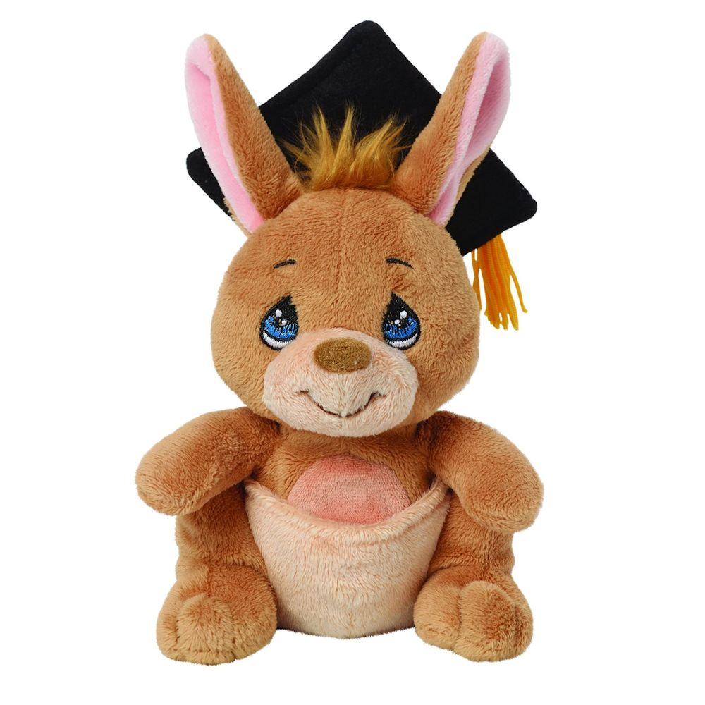 Precious Moments 154501 Plush Graduation Kangaroo with Gift Card Holder by Precious Moments