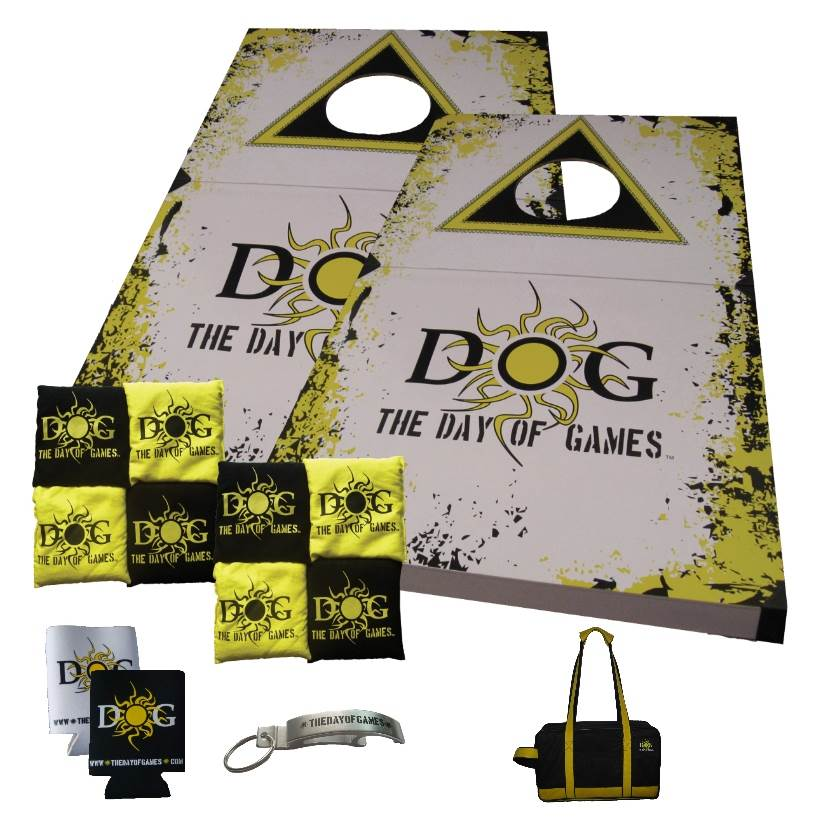 The Day of Games Portable Cornhole Game Set
