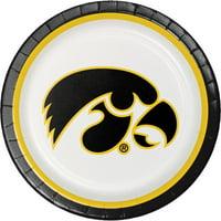 Creative Converting University Of Iowa Paper Plates, 8 ct