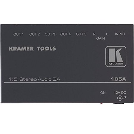 Kramer 105A Kramer Electronics 105A Usa 1 5 Aud Da Kramer 105A Distribution Amplifier 105A B Photo Video