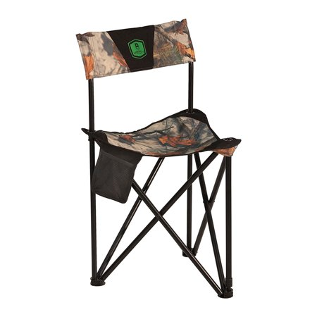 Camo Cami - Barronett Blinds BC101 Tripod XL Folding Hunting Blind Chair, Bloodtrail Camo