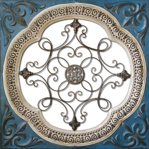 HDC International Metal Tin Cutout Wall D cor