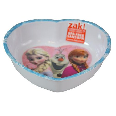 Nambe Heart Bowl (Disney Frozen 5.5in Melamine Heart Shaped Bowl- 2 PACK )