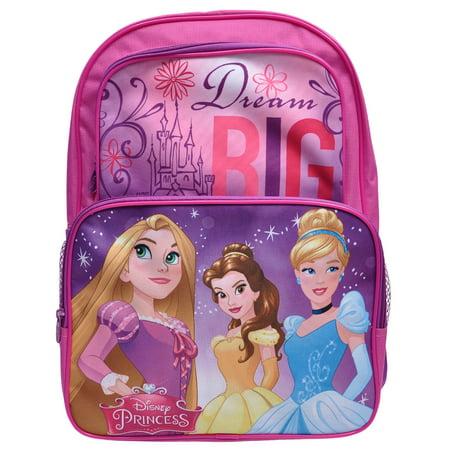 4ab4cb67c5e4 Girls Disney Princesses Dream Big Backpack 16