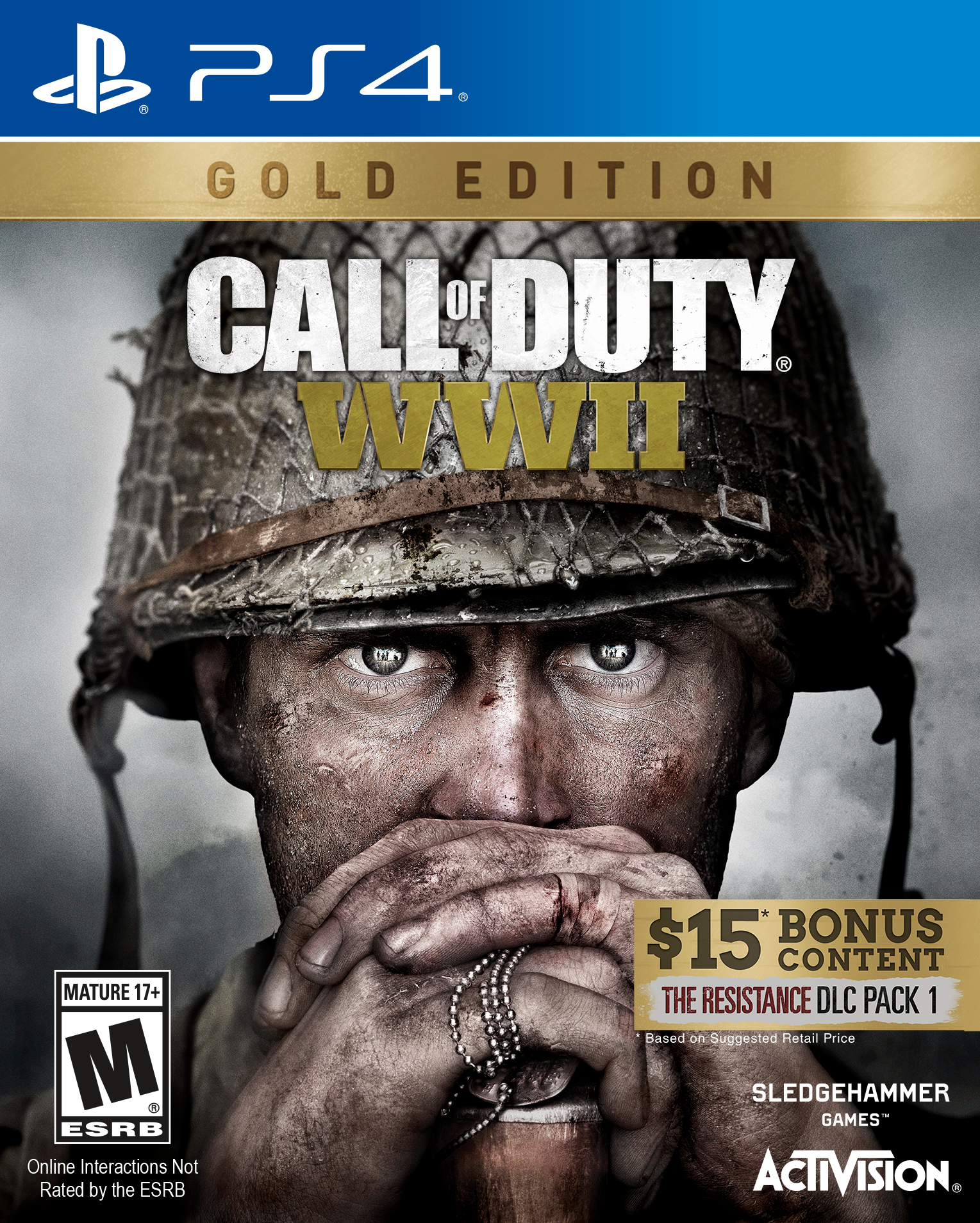 Call of Duty: WWII Gold Edition, Activision, PlayStation 4, 047875882478