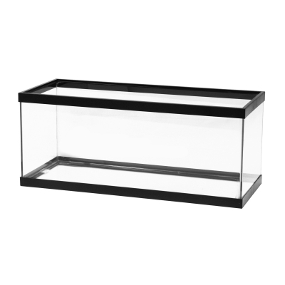 Aqueon 20 gal (Long) Standard Aquarium Tank, Black Trim by Aqueon