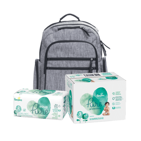 Diaper Duty Kit - Save 20% on Pampers Pure Diapers & Pampers Aqua Pure (Nappy Kit)