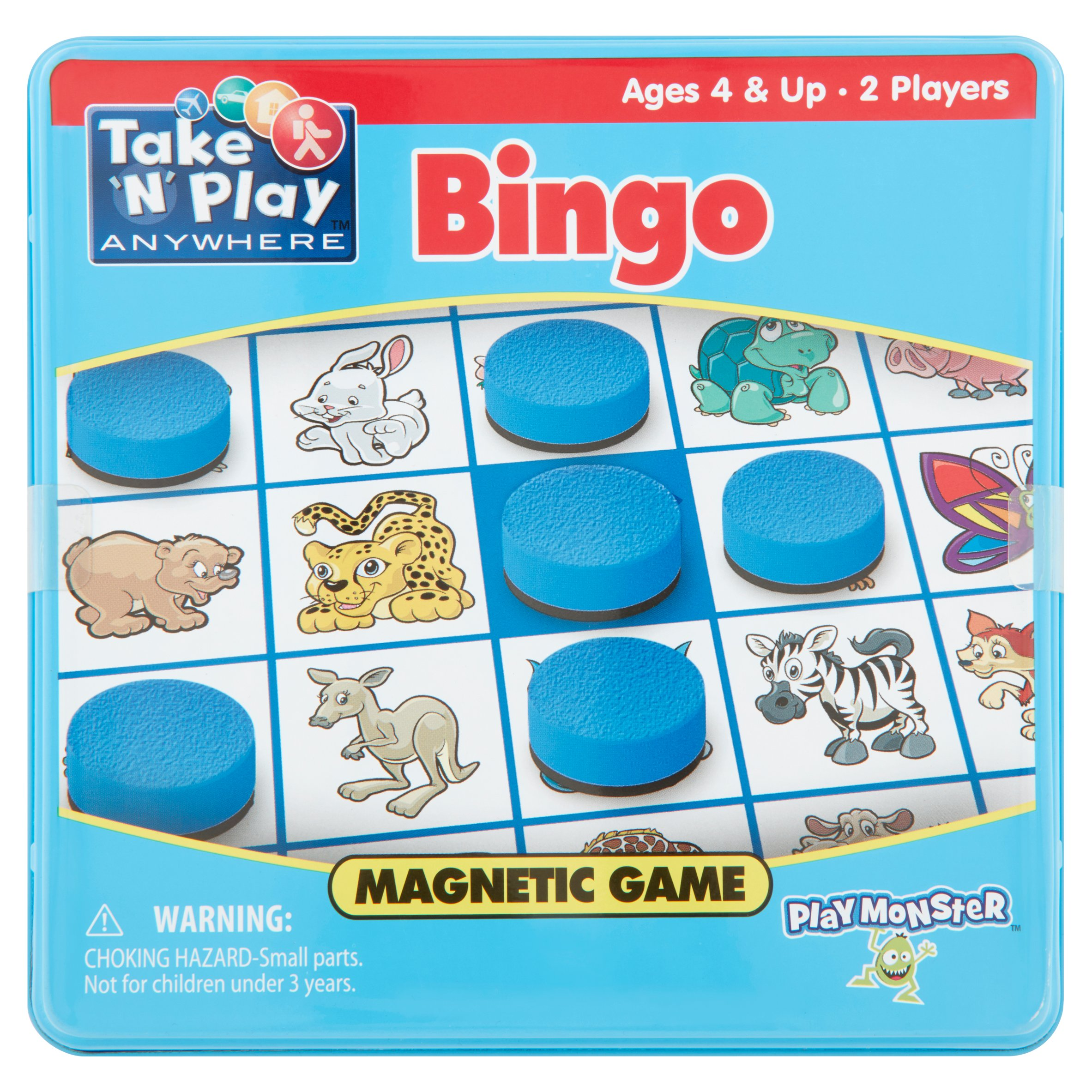 Play Monster Take 'N' Play Anywhere Magnetic Game Ages 4 & Up