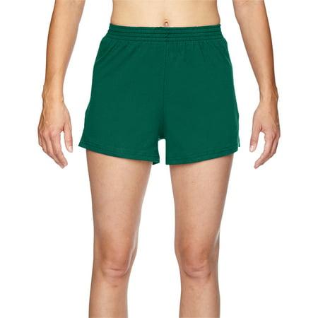 Juniors' Jersey-Knit Cheer Short (Blue Cheer Shorts)