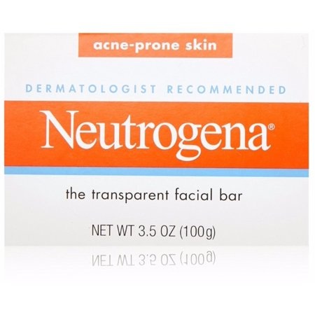3 Pack - Neutrogena Acne Prone Skin Formula Facial Bar 3.50