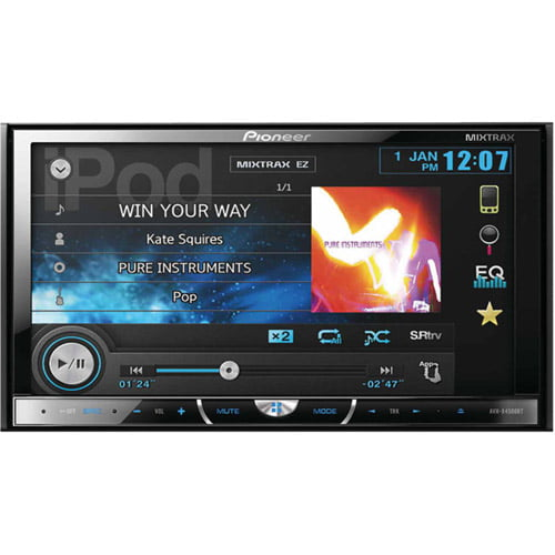 "Pioneer Avh-x4500bt 2-DIN Multimedia DVD Receiver with 7"" WVGA Touchscreen Display by Pioneer"