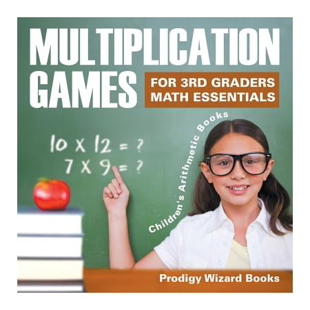 Multiplication Games for 3rd Graders Math Essentials Children's Arithmetic Books - Halloween Books For Third Graders