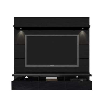 Manhattan Comfort Cabrini 1.8 Series 71″ Theater Entertainment Center Panel in Black