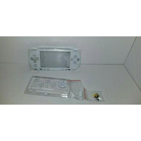 WHITE Full Housing Replacement Case Shell Kit For PSP 1000 1001 B18